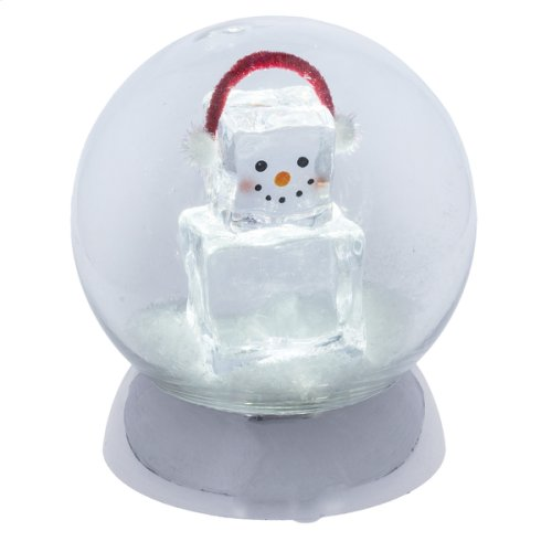 Lighted LED Ice Fella Globe.