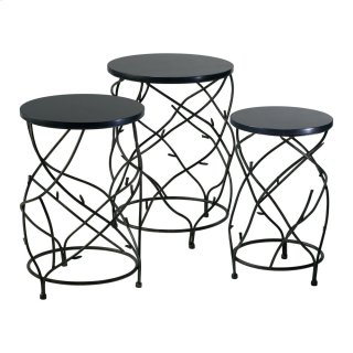 Branch Drum Tables S/3