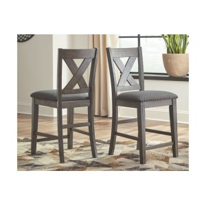 Ashley FurnitureSIGNATURE DESIGN BY ASHLEYUpholstered Barstool (2/CN)
