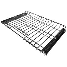 SatinGlide™ Roll-Out Full Extension Rack with Handle for select 30In Wall Ovens and Ranges