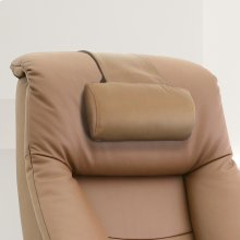 Cobblestone (Tan) Top Grain Leather -Neck Support -Adjustable -Top Grain Leather