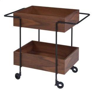 Errol KD Cart, Walnut *NEW*