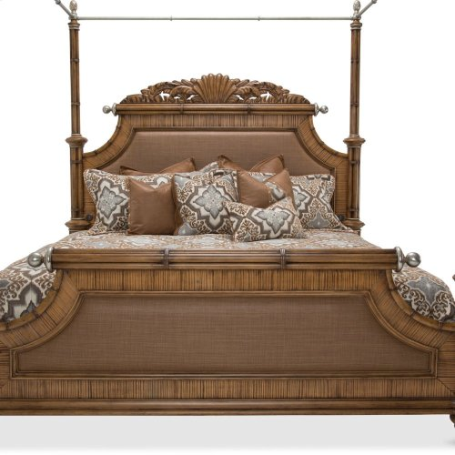 Queen Poster Bed W/canopy Kit (5 Pc)