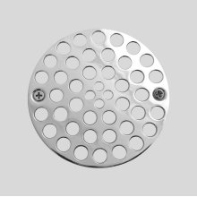 Shower strainer for plastic oddities