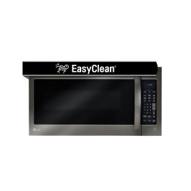 LG Black Stainless Steel Series 2.0 cu.ft. Over-the-Range Microwave Oven with EasyClean®
