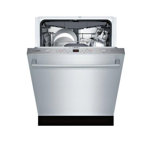 300 Series built-under dishwasher 24'' Stainless steel SHXM63W55N