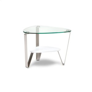 Bdi FurnitureEnd Table 1347 in Gloss White