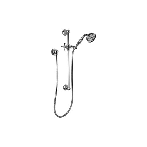 Traditional Handshower w/Wall-Mounted Slide Bar