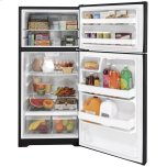 Hotpoint(r) 15.6 Cu. Ft. Recessed Handle Top-Freezer Refrigerator