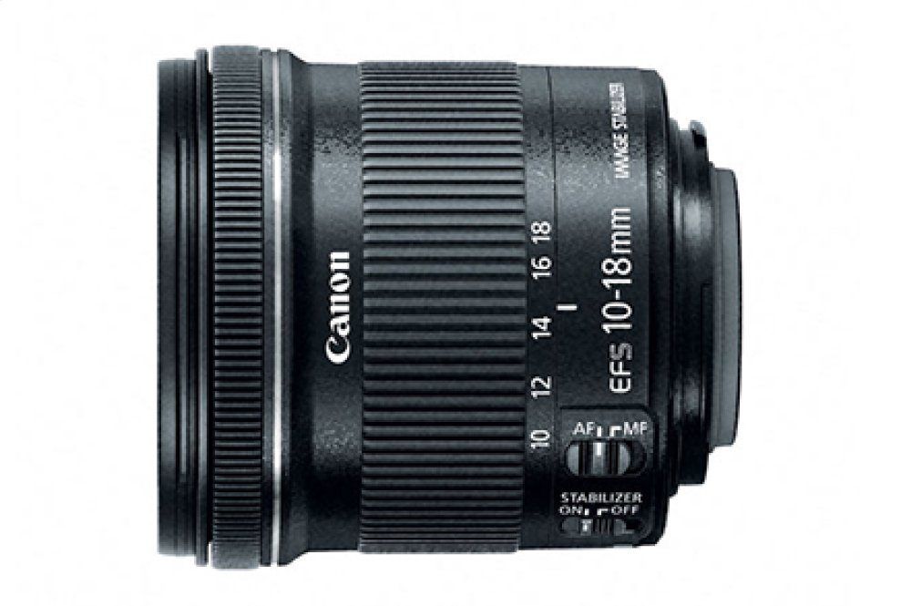 EF-S 10-18mm f/4.5-5.6 IS STM Ultra-Wide Zoom Lens
