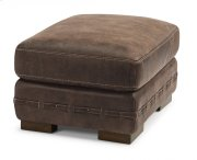 Buxton Leather Ottoman Product Image