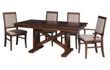 45/68-2-12 X-Base#1 Trestle Table