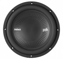 """MM1 Series 10"""" Single Voice Coil Subwoofer with Ultra-Marine Certification in Black"""