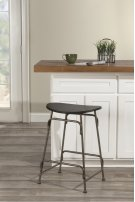 Mitchell Non-swivel Backless Counter Stool Product Image