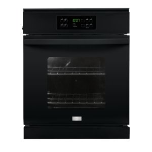 24'' Single Electric Wall Oven - BLACK