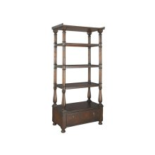 office@home Havana Open Shelving with File