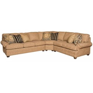 Highland Park LAF One Arm Sofa, Highland Park Corner Wedge, Highland Park RAF One Arm Loveseat