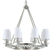 Cascade Collection Eight-Light Incandescent Chande