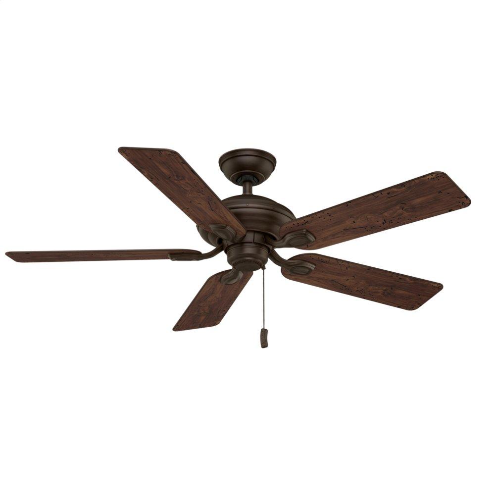 Utopian Outdoor 52 inch Ceiling Fan  BRUSHED COCOA