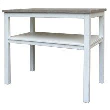Studio Chairside Tbl-wht/rw
