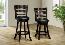 "BARSTOOL - 2PCS / 38""H / SWIVEL / CAPPUCCINO COUNTER HGT"