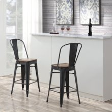 Moon Bar Stool BMO100CHE