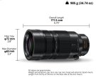 H-RS100400 Interchangeable Lenses Product Image
