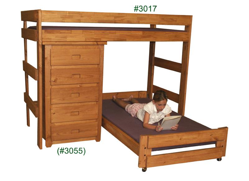 ... Pine Crafter Furniture 3017. Twin/Twin Crews Quarters