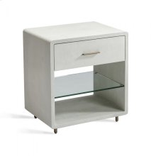 Calypso Bedside Chest - Bone