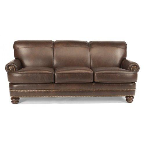 B379131 in by Flexsteel in Warrensburg, MO - Bay Bridge Leather Sofa ...