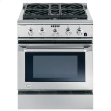 "GE Monogram® 30"" Dual-Fuel Professional Range with 4 Burners (Liquid Propane)"