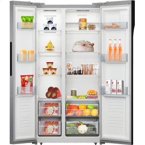 Avanti15.6 Cu. Ft. Frost Free Side-by-Side Counter-Depth Refrigerator