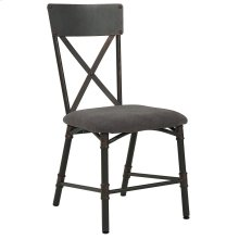 Bronx Side Chair in Antique Black, 2pk