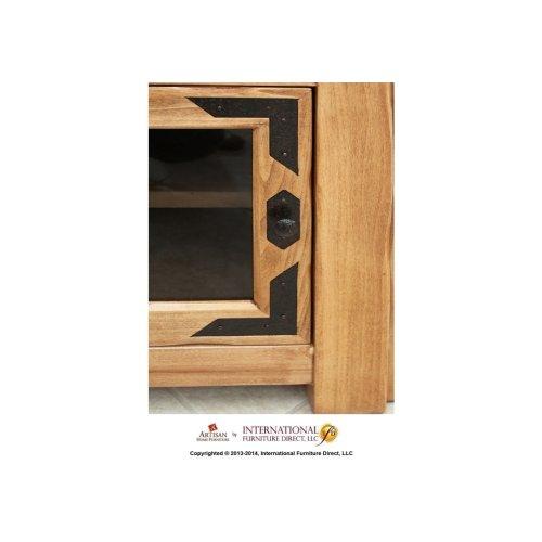 """60"""" Wide TV Stand w/4 doors"""