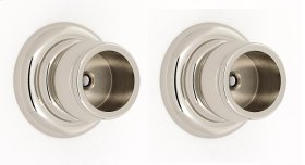 Charlie's Collection Shower Rod Brackets A6746 - Polished Nickel