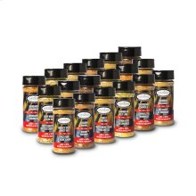 Louisiana Grills Spices & Rubs - 5 oz Sampler Pack - 18 Spices