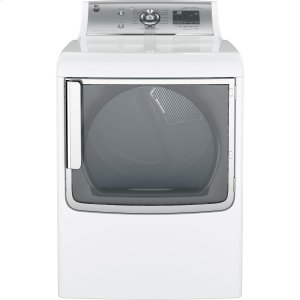 GEGE® 7.8 cu. ft. capacity gas dryer with stainless steel drum and steam