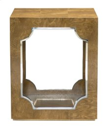Soho Luxe End Table in Dark Caramel (368)