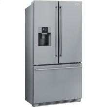 "90 CM (Approx 36""), French-Door Refrigerator/Freezer, 2 doors & 1 drawer, Stainless Steel"