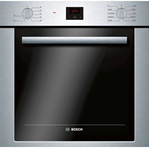 BOSCH500 Series Single Wall Oven 24'' Stainless Steel HBE5453UC