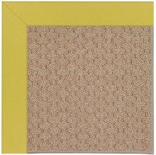Creative Concepts-Grassy Mtn. Canvas Lemon Grass Machine Tufted Rugs