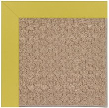 Creative Concepts-Grassy Mtn. Canvas Lemon Grass Machine Tufted Rugs