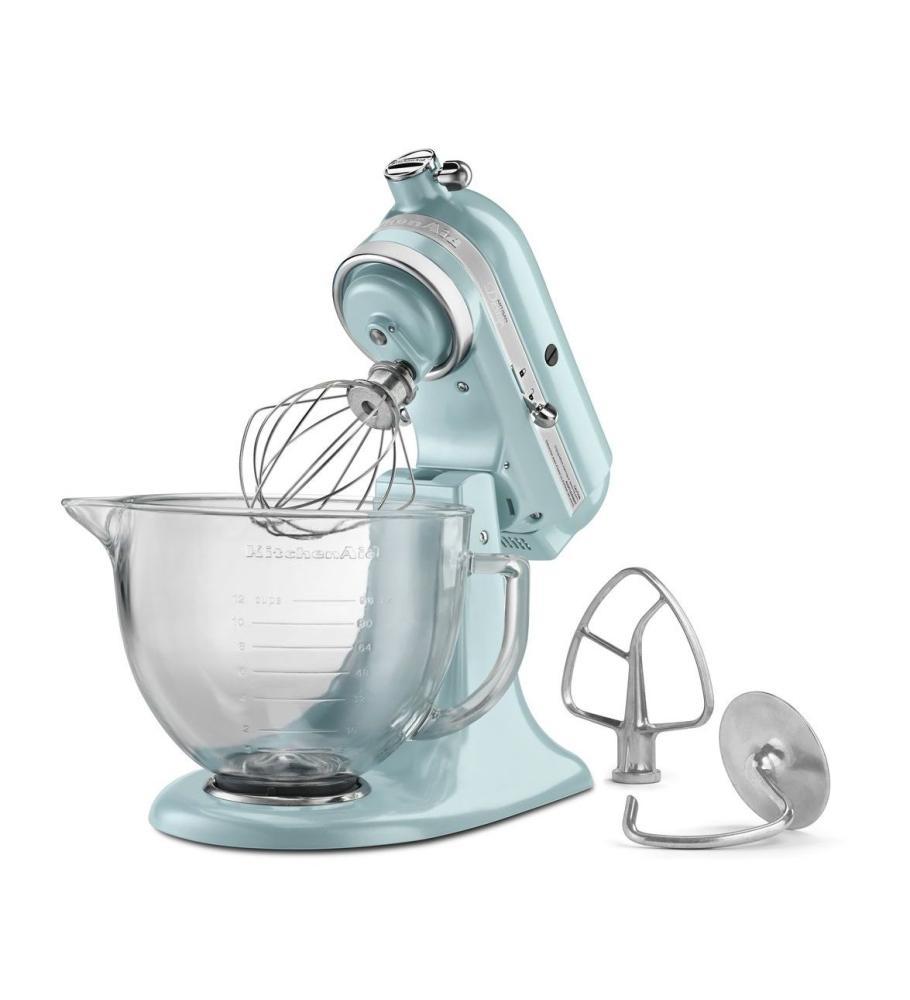 Artisan® Design Series 5 Quart Tilt Head Stand Mixer With Glass Bowl