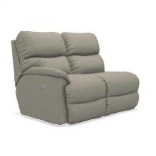Trouper Power Right-Arm Sitting Reclining Loveseat w/ Headrest