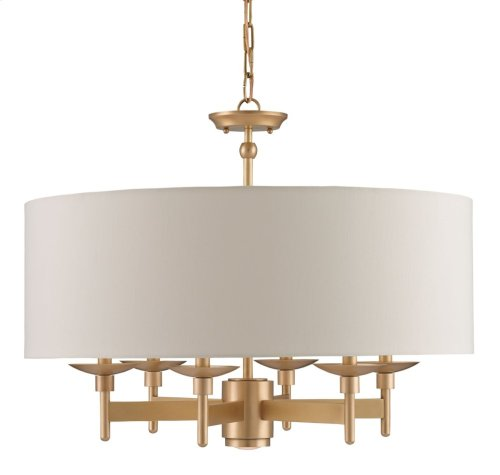Bering Brass Chandelier