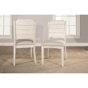Hillsdale FurnitureClarion Side Dining Chair - Set of 2 - Sea White