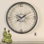 Spokes Wall Clock Product Image
