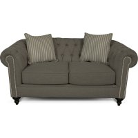 Brooks Loveseat with Nails 4H06N Product Image