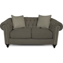Brooks Loveseat with Nails 4H06N