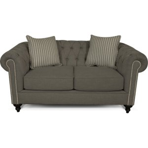 ENGLAND FURNITURE Brooks Loveseat With Nails 4h06n